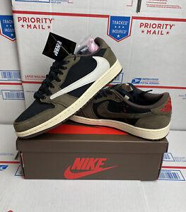 Details about Nike Air Jordan 1 Low Travis Scott Size 8 Black Mocha Cactus  Jack CQ4277-001