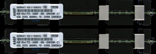 8GB 2 X 4GB PC2-6400 DDR2-800 FBDIMM MEMORY FOR APPLE Mac Pro 8-core 3,1