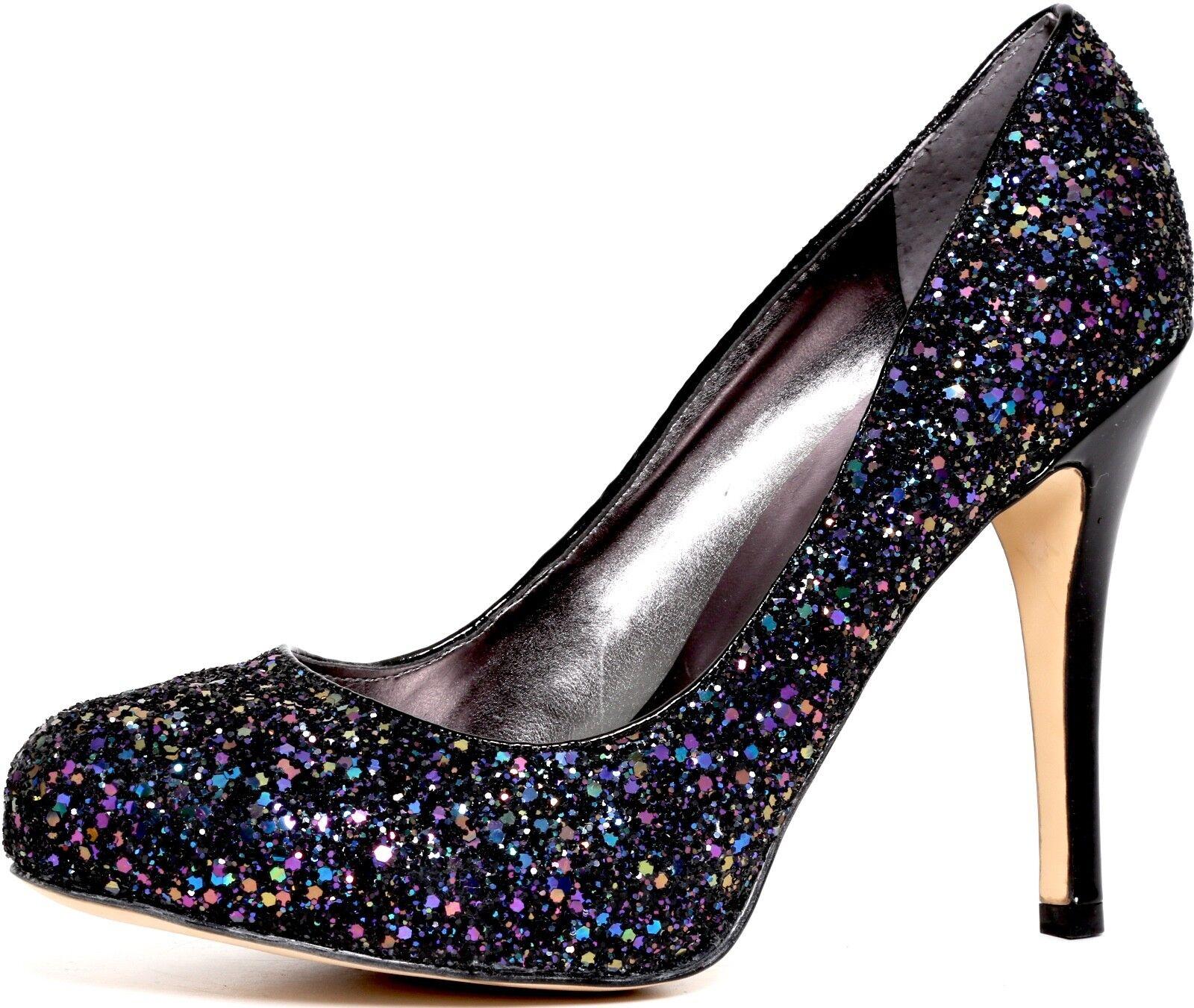 ordina adesso Ivan Trump 'Iris' nero Glittery Heels 2946 2946 2946 Dimensione 8.5 M  risparmia il 60% di sconto