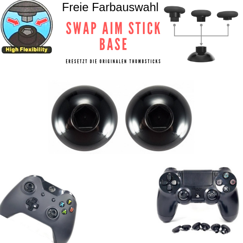Aim Stick Swap Base Adapter For 14in1 Thumbsticks PS4 & Xbox Controller