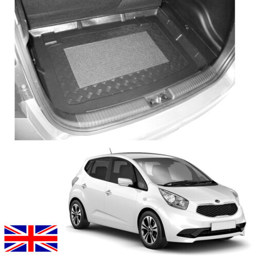 Kia Venga choice of LDPE LOWER boot liner rubber load mat or bumper protector