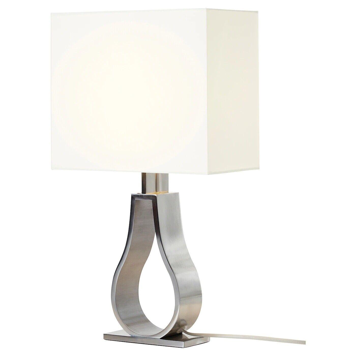 Ikea Tischleuchte Elfenbeinweiss 60cm Tischlampe Lampe