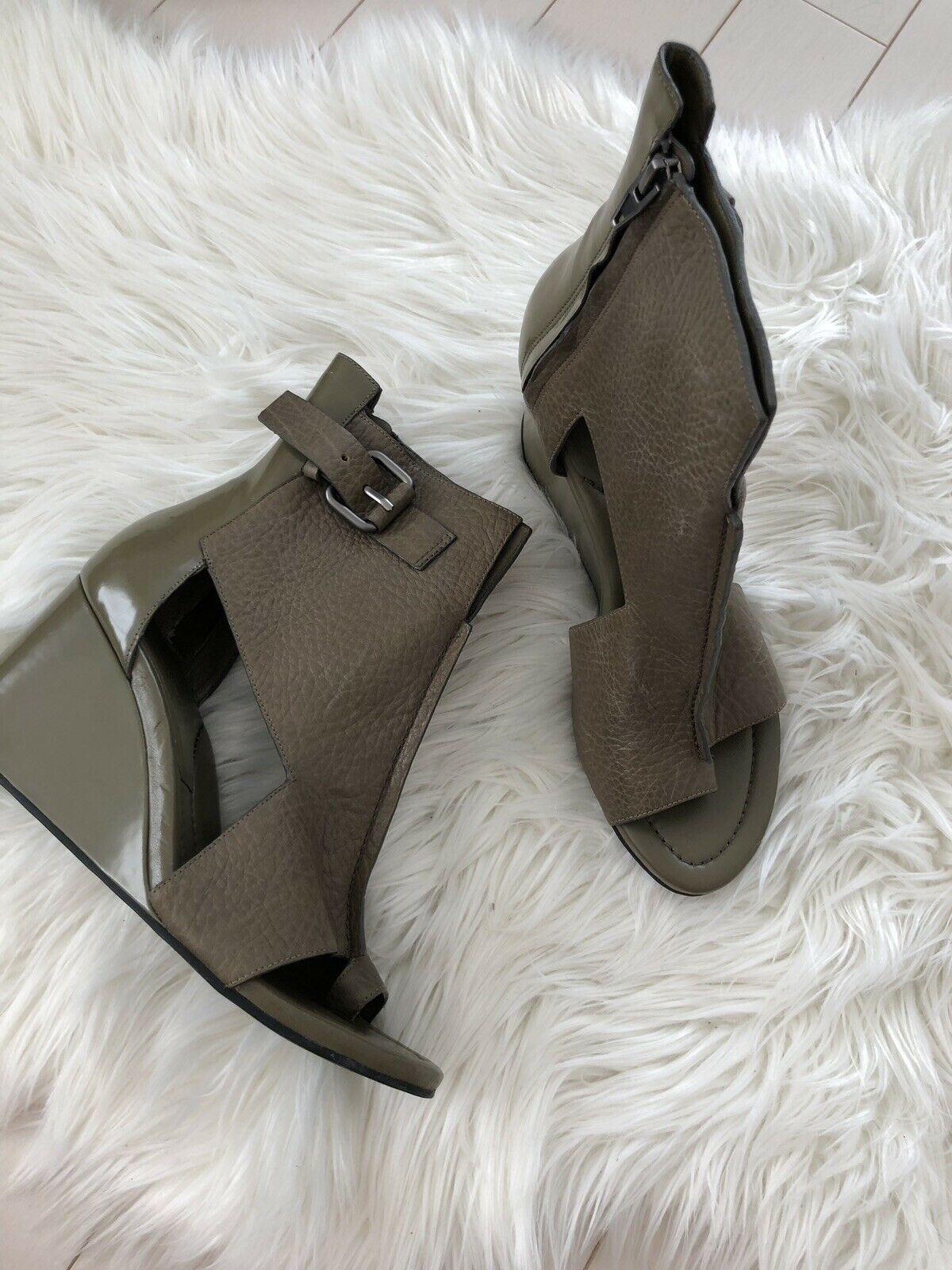Alexander Wang Wedge Sandals Size 40 New