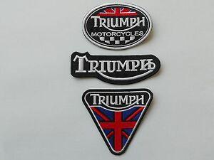 Belle Triumph Kit 3 Toppe Ricamate Termoadesive - Replica