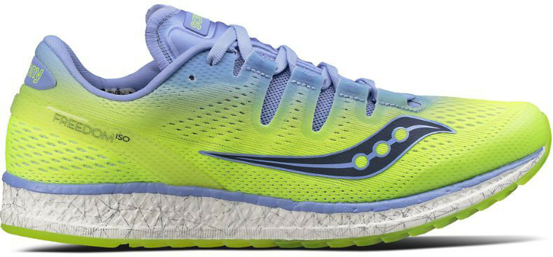 Saucony Freedom ISO Womens Running shoes - Green