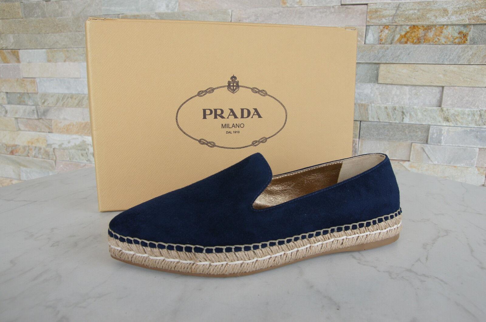 PRADA TAGLIA 40 nero Sandali Sandals 3x6143 Scarpe Velcro nero 40 NUOVO UVP a01c5c