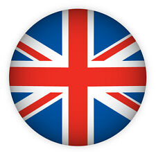 Union Jack Crystal Glass Bubble Magnet Flag UK Souvenir Gift