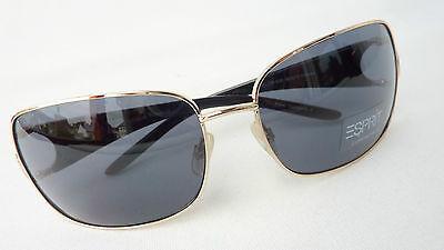 Diplomatico Esprit Occhiali Da Sole Da Donna Colori Oro Sunglasses Grandi Preziose Risorse Viso Taglia M-mostra Il Titolo Originale