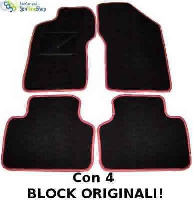 TAPPETI AUTO tappetini moquette +2block A4 A3 Sportback A3 AUDI A2 A4 Avant
