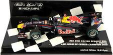 Minichamps Red Bull RB6 Abu Dhabi GP 2010 S Vettel 2010 F1 World Champion 1/43