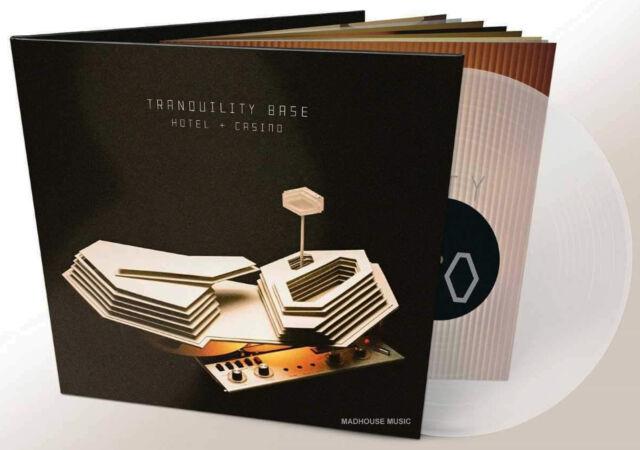 ARCTIC MONKEYS LP Tranquility Base Hotel + Casino CLEAR VINYL + Downloads + Pro