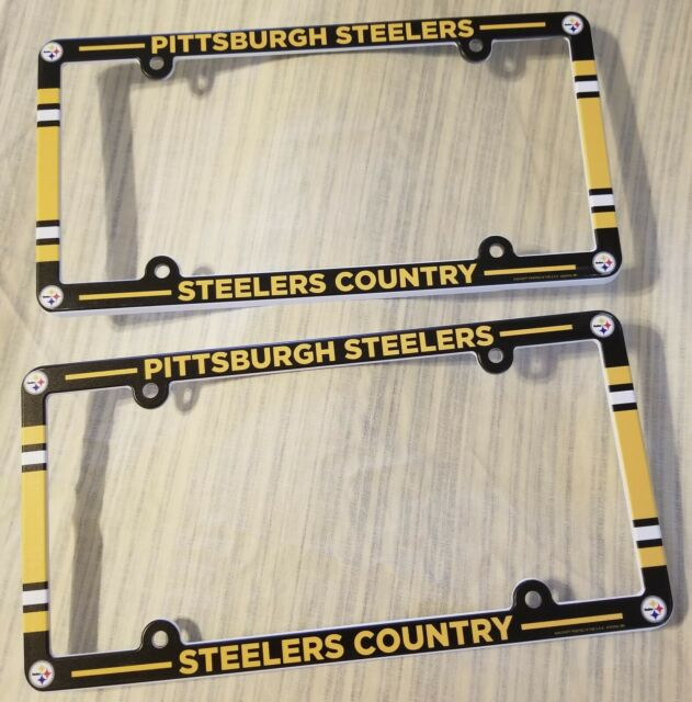 WinCraft NFL Metal License Plate Frame
