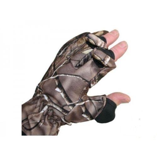 Med camo gants pliant doigts 4 carpe brochet pêche chasse tir