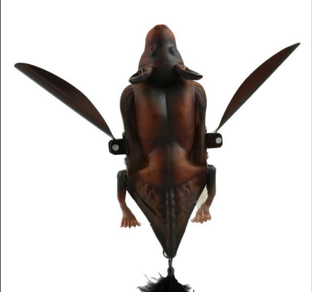 "SAVAGE GEAR 3D BAT LURE BROWN 5/"" FLOATING//CRAWLING 2 OZ"