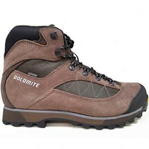 Dolomite-Moena-GTX-Uomo-Scarponi-Marroni-Trekking-Scarponcino-Montagna-Gore-Tex