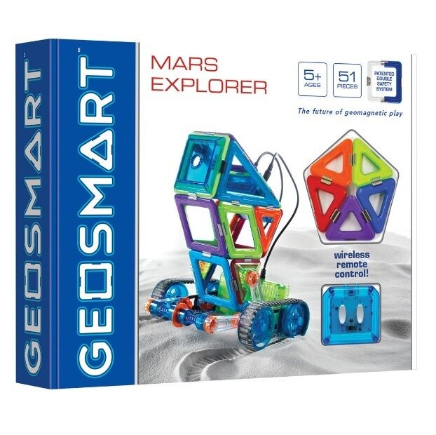 GEOSMART Educational MARS EXPLORER The Future of Geomagnetic Play 51 Pieces