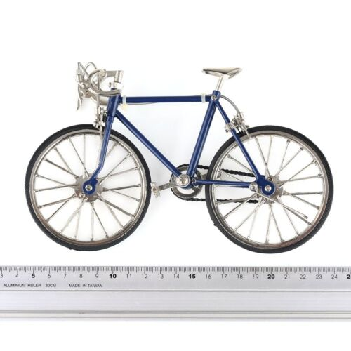US 1:10 Diecast Racing Bike Model Replica Bicycle Toy B-day Gift Dark Blue