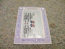 Microscale  decals HO MC-4070 Conrail US Olympic Cycling spec locos   YYY