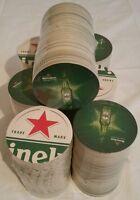 Heineken Beer Coaster Bar Mancave Lot Of 100 Coasters
