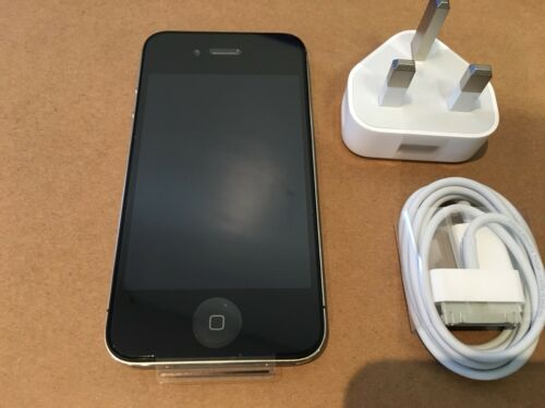 1 of 1 - Apple iPhone 4s - 8GB - Black --Unlocked- -NEW- UNBOXED