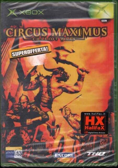 Circus Maximus: Chariot Wars Xbox Nuovo Sigillato 4005209038324