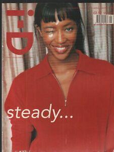 i-D Pop Culture Magazine January February 1998 Naomi Campbell  020421ame