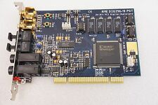 ADAT RME DIGI96/8 PST 24 BIT PCI DIGITAL AUDIO CARD  FREE SHIP