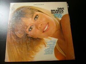 Dave Brubeck Quartet Angel Eyes LP Record With Shrink,  Used