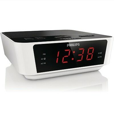 PHILIPS AJ3115 DIGITAL RADIO CLOCK