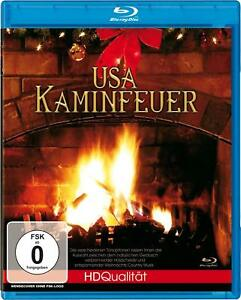 USA Campfire Relaxing Pictures & Music - Blu-Ray Disc HD Festive