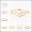 Femmes Strass Cristal Or LOVE Coeur Creux Bangle Manchette Bracelet Bijoux