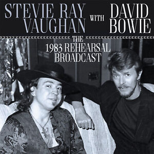 stevie ray vaughan david bowie new sealed 2019 live 1983 rehearsal concert cd ebay. Black Bedroom Furniture Sets. Home Design Ideas