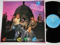 ROMAN HOLLIDAY cookin' on the roof LP Jive Rec. 1983 NEW WAVE