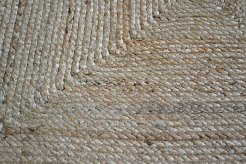 100/% jute Rectangle Grand American Tressé Style Rugs réversible Rustique Look