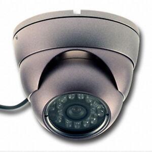 camera de vid o surveillance d me infrarouge anti vandale ext rieure int rieure ebay. Black Bedroom Furniture Sets. Home Design Ideas