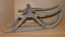 2 antique 1920 1930 Model t ford ski runners collectable winter snow bob sled