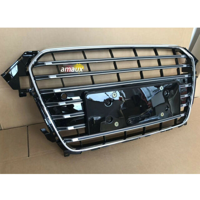 Mesh Grill Fit For Audi A4 B8.5 S4 2013-2015 Front Vent