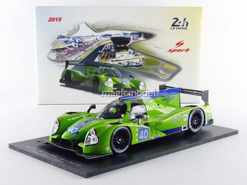 Spark Ligier Js P2 Judd le Mans 2015  40 en 1 18 Echelle Nouvelle Version