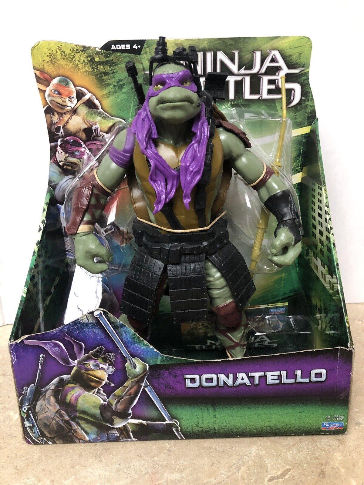 New Donatello Teenage Mutant Ninja Turtles Turtles Turtles Movie 11  Purple Action Figure - READ f3e28b