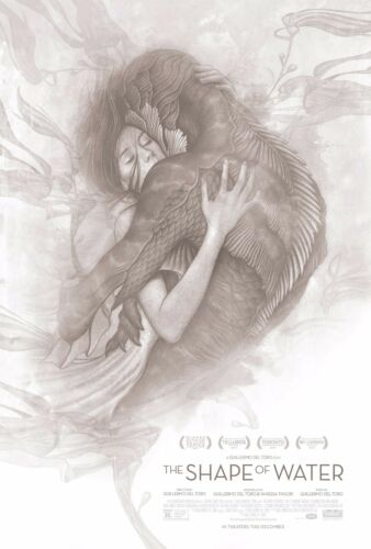 THE SHAPE OF WATER POSTER A4 A3 A2 A1 CINEMA MOVIE LARGE FORMAT