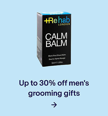 Up to 30% off men's grooming gifts