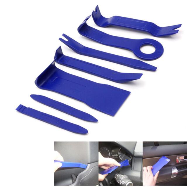 Useful 7Pcs Car Interior Dash Radio Door Clip Panel Trim Open Removal Tools Kit