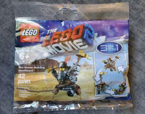 Lego Movie 2 Set Polybag 30528 Mini Master-building Metalbeard w// minifigure