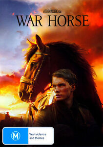 DVD-WAR-HORSE-a-Steven-Spielberg-Film-WWI-Artillery-Horse-Oz-DVD-Release