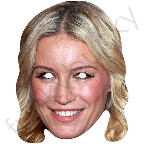 Denise Van outen Celebrity CARTA MASCHERA-tutte le nostre maschere sono pre-tagliati!