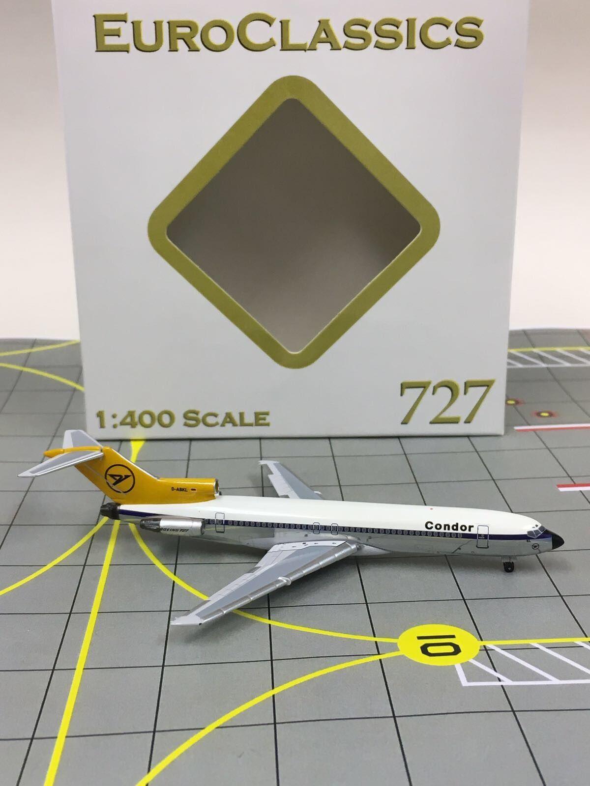Aeroclassics 1 400 Condor Airlines Boeing 727 D-ABKL