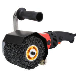 5-039-039-Black-Poly-Drawing-Polishing-Burnishing-Wheel-F-Metal-Cleaning-Rust-Removal