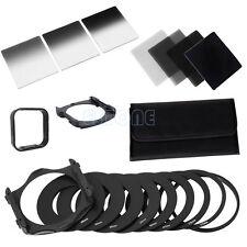 Adapter+Hood Kit+Square Filter Holder + Complete 2/4/8/16 ND Filter For Cokin P
