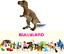 Figurine-Dinosaures-Tyrannosaure-Peint-Main-10-cm-Jurassic-Jouet-Bullyland-61344 miniature 1