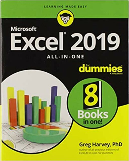 Excel 2019 All In One For Dummies Pdf B00k For Sale Online Ebay